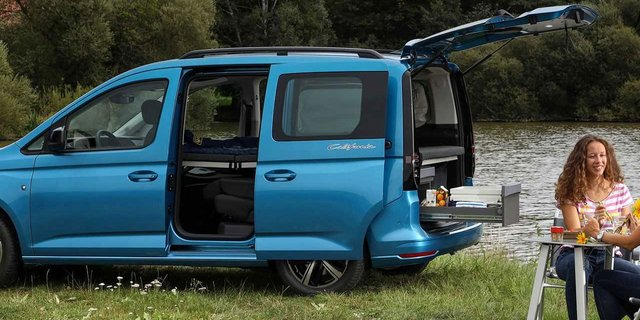 VW Caddy California | Privatleasing